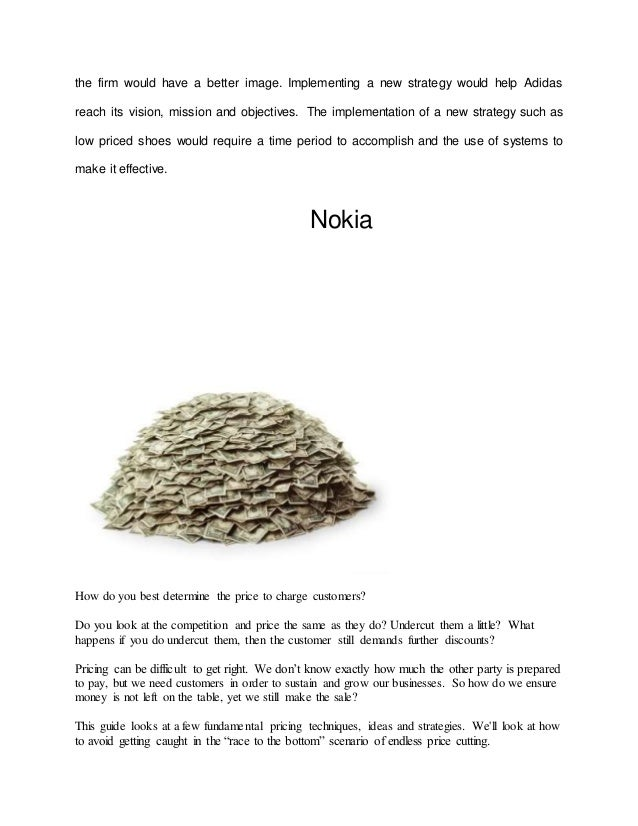 nokia company vision mission and objectives Free essays on analysis of mission and vision statement of nokia for students use our papers to help you with yours 1 - 30.