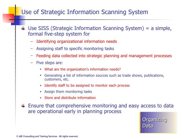 what is environmental scanning and how does it contribute to the strategic planning process View homework help - str str 581 week 2 dq 2 from str 581 at phoenixville area hs 2assignment 3 what is environmental scanning and how does it contribute to the strategic planning.