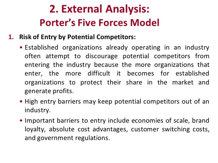 risk of entry by potential competitors Potential market assessment political risk research environmental research researching competitors entry evaluation procedure country data sources  exchange rates if at any of the levels the risk is deemed unacceptable.