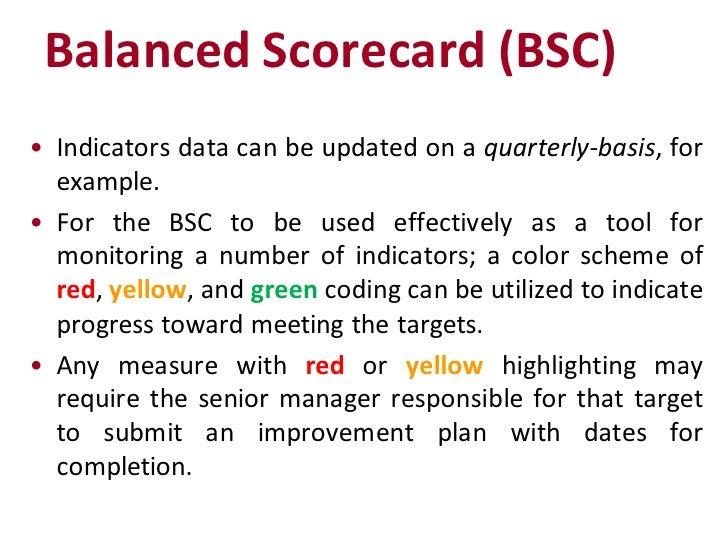 example of a balanced scorecard in healthcare