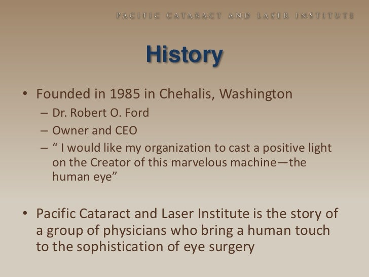 pacific cataract
