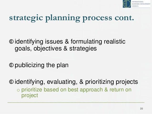 Economic Development Strategic Planning