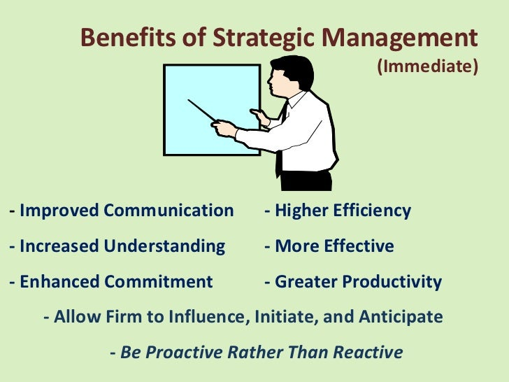 benefits of strategic planning in healthcare