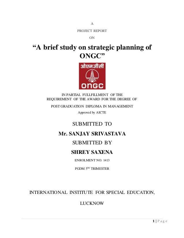 How to get an internship at ONGC