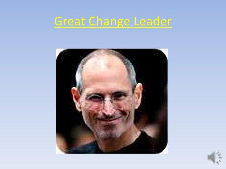 Great Change Leader