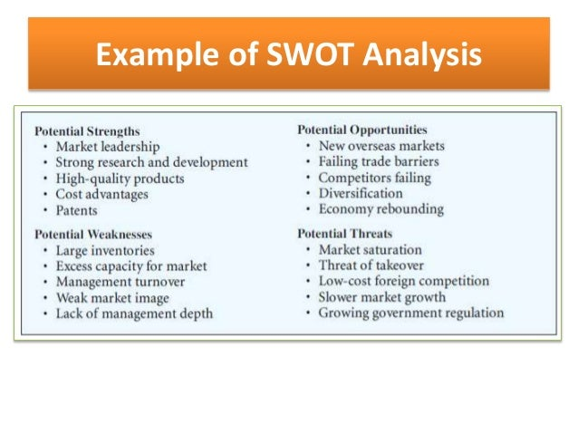 Oats SWOT Analysis