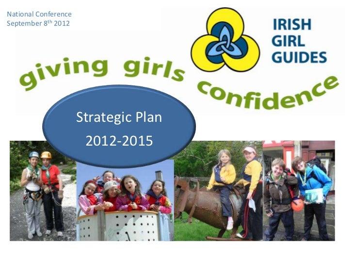 National ConferenceSeptember 8th 2012                      Strategic Plan                       2012-2015