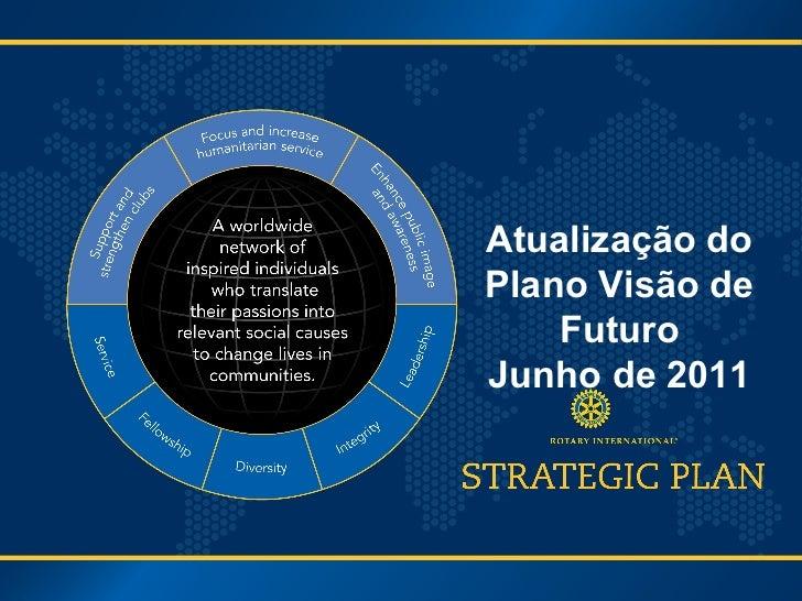 Atualização do Plano Visão de Futuro Junho de 2011