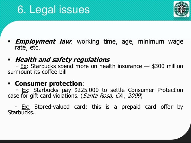 starbucks health and safety issues Starbucks and children health risks plus articles and information on nutrition boxing news, reviews, articles, interviews and forum start a free email account, homepage or even your own journal.