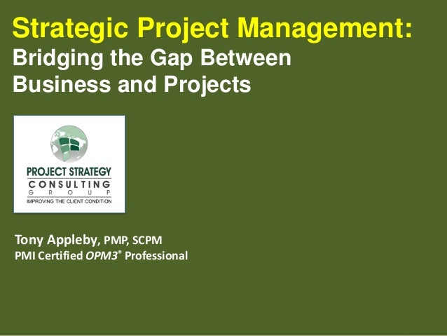 Corporate strategy and project management