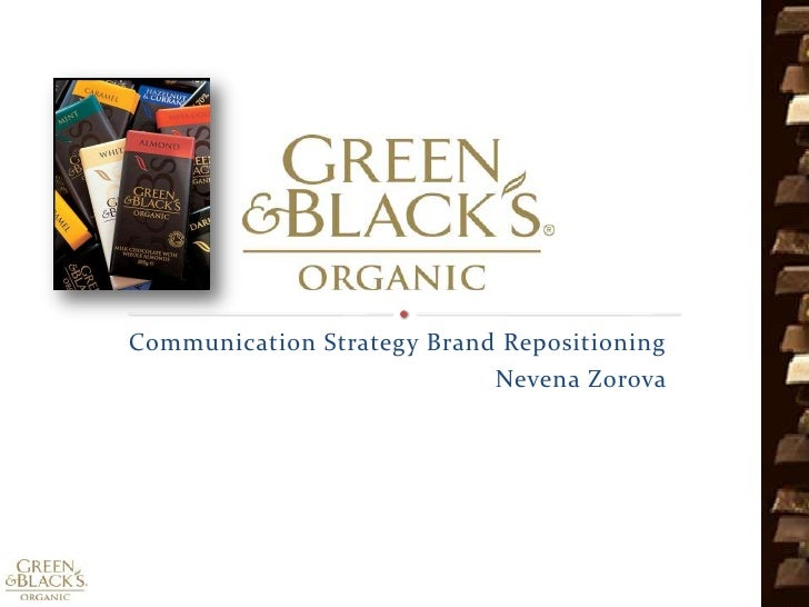 Communication Strategy Brand Repositioning<br />      Nevena Zorova<br />