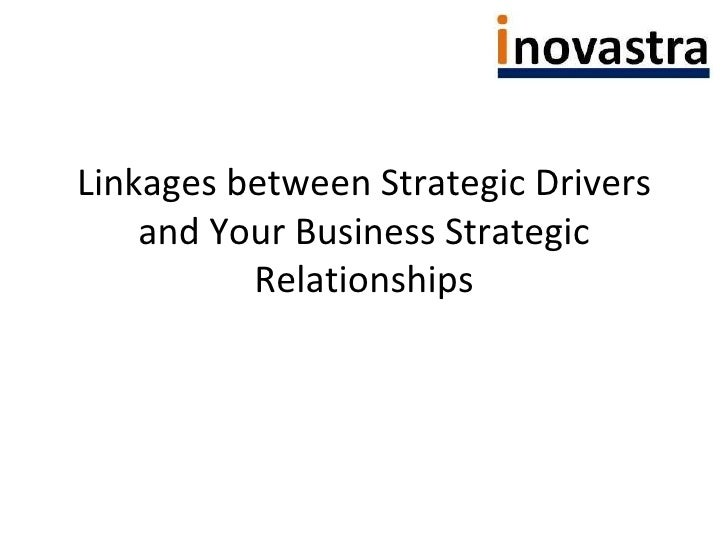 Linkages between Strategic Drivers and Your Business Strategic Relationships