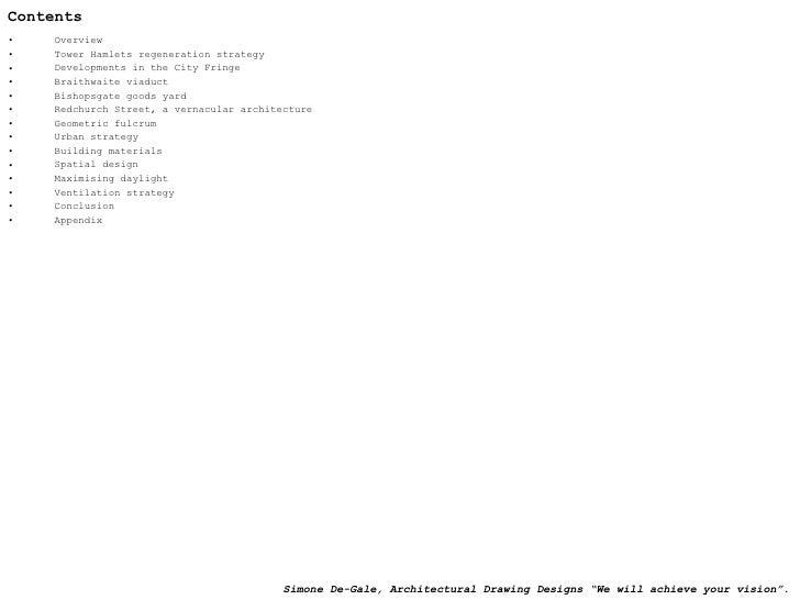 Contents <ul><li>Overview </li></ul><ul><li>Tower Hamlets regeneration strategy </li></ul><ul><li>Developments in the City...