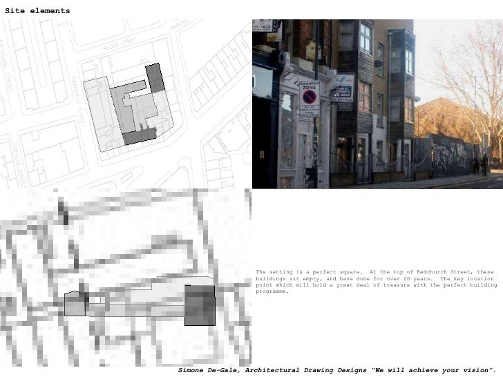 <ul><li>The setting is a perfect square.  At the top of Redchurch Street, these buildings sit empty, and have done for ove...