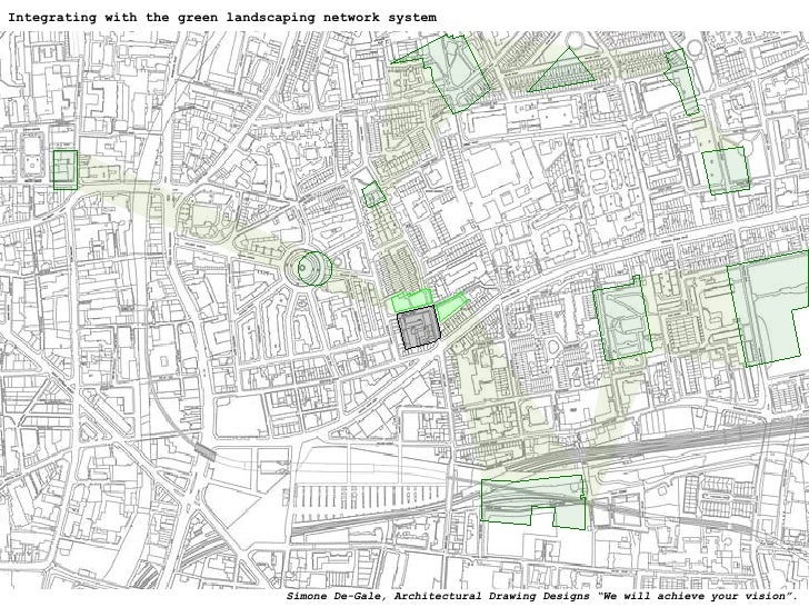 """Integrating with the green landscaping network system Simone De-Gale, Architectural Drawing Designs """"We will achieve your ..."""