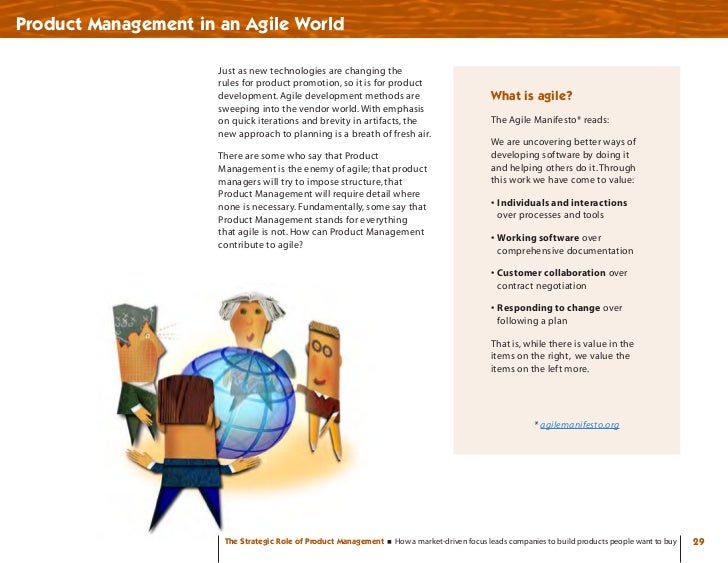 Product Management in an Agile World                        Just as new technologies are changing the                     ...