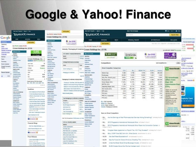 Strategic sales research google yahoo finance powerpoint templates toneelgroepblik Images