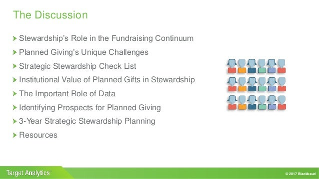 Strategic Stewardship For Planned Giving Programs