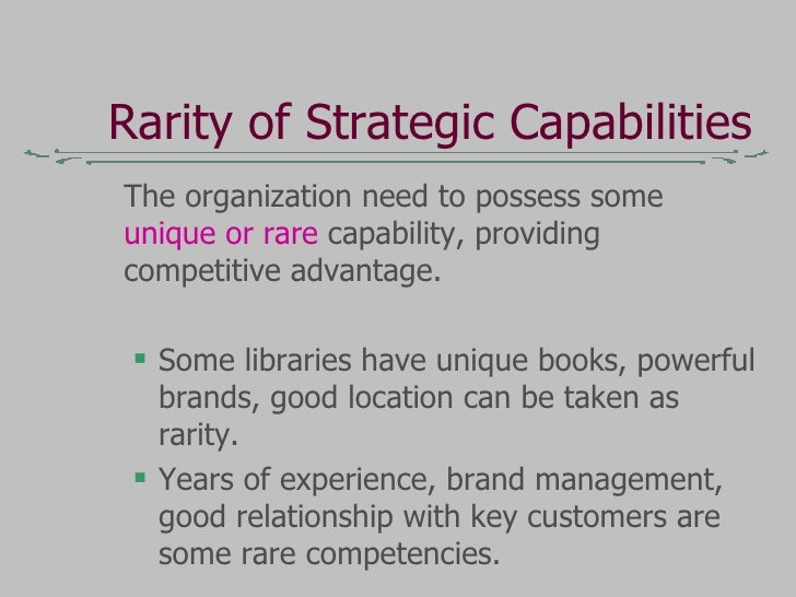 the dynamics of strategic capability Journal of management and strategy vol 3, no 3 june 2012 published by  sciedu press 21 a dynamic capabilities perspective on the.