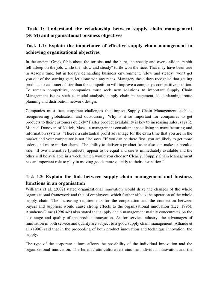 dissertation proposal on supply chain management
