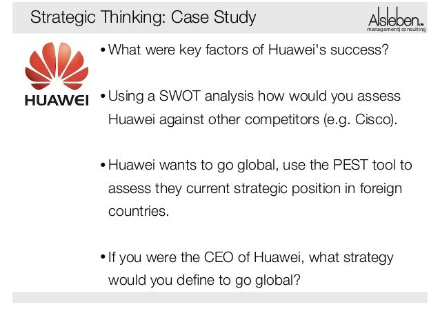 huawei swot analysis Huawei is a global brand that provides telecommunications technologies here's how we introduced the tech giant's brand to north america.