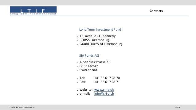 SIA Funds: de Value Investing a Strategic Value