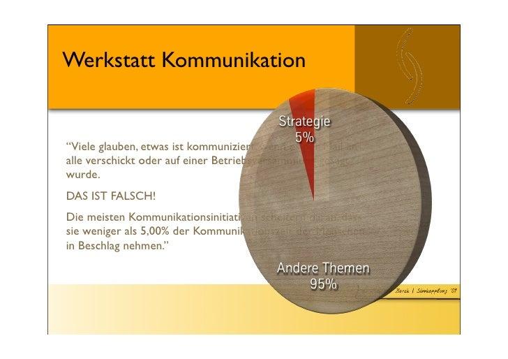 Workshop (DE): Strategie Kommunikation, Zurich/Switzerland, organized by ZfU Slide 3