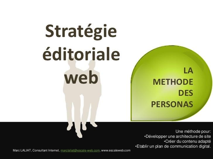 Stratégie                   éditoriale                                                                                    ...