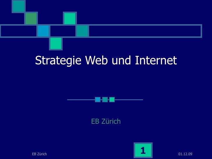 Strategie Web und Internet EB Zürich
