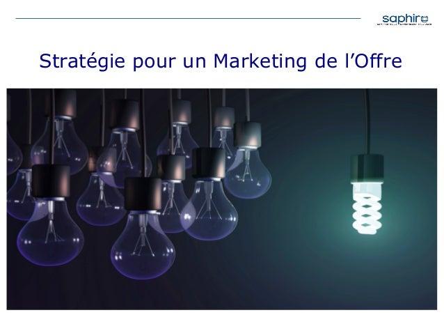 Stratégie pour un Marketing de l'Offre