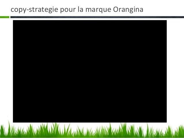 copy strat marketing orangina