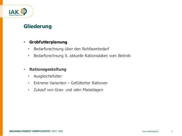 Strategien Futterversorgung unter Extrembedingungen Slide 2