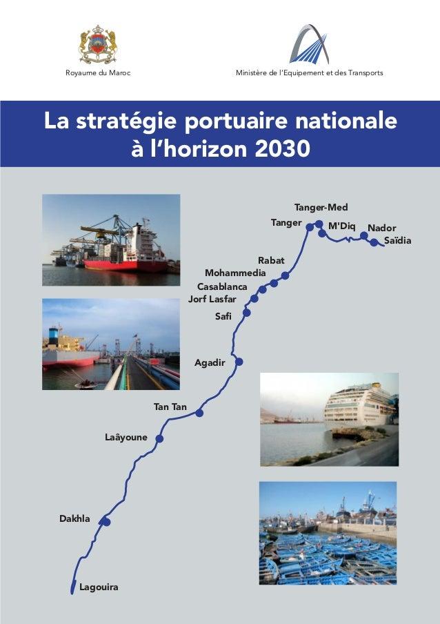 Royaume du Maroc                         Ministère de l'Equipement et des Transports                                      ...