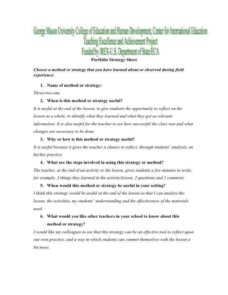Strategies Slide 2