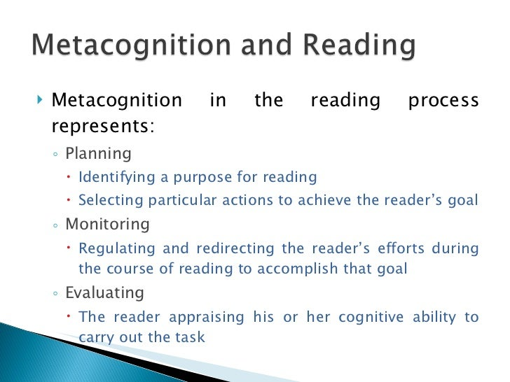 metacognition enhancing metacognitive skills Most students don't spend much time thinking about learning in general, much  less how they learn but teaching metacognitive skills can help.