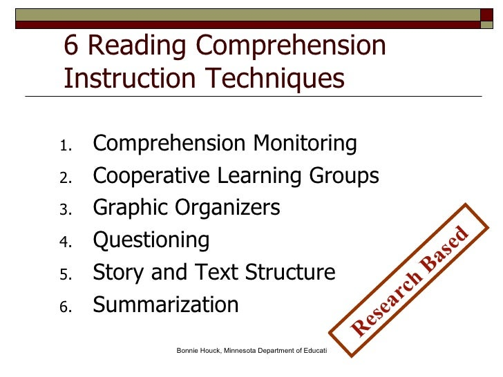 Strategies For Incorporating The National Reading Panels Five Compone