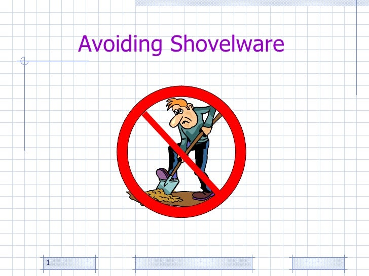 Avoiding Shovelware