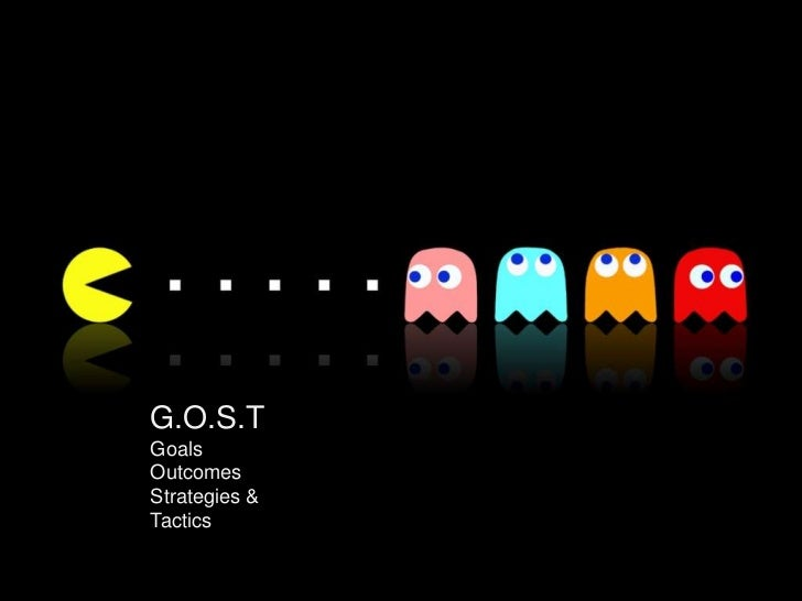 Gost Goals Objectives Strategies And Tactics