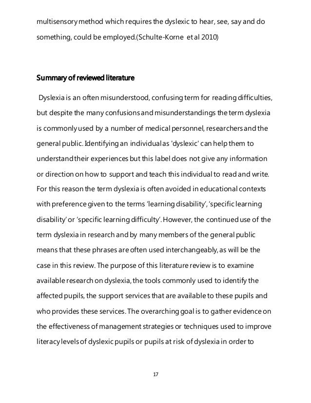 Teachers Misunderstand Dyslexia >> Strategies Employed By Teachers In The Management Of Dyslexia In Prim