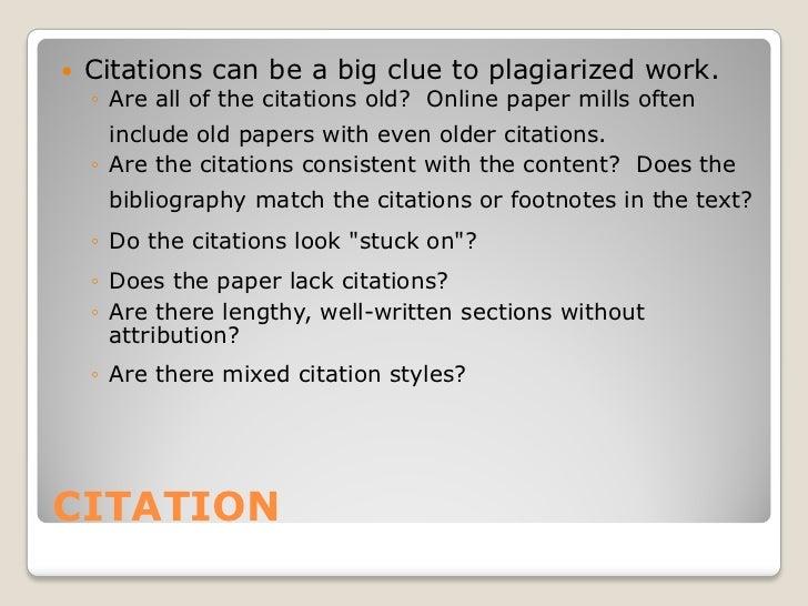 Strategies for detecting plagiarism Slide 3