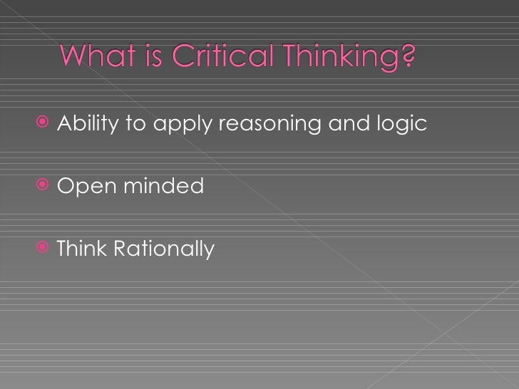 techniques for developing critical thinking Critical thinking can make or break a nursing career take your nursing career to the next level by improving and sharpening your critical thinking skills.