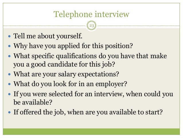 professionalism 23 telephone interview 23 tell me about yourself why have you applied - Why Have You Applied For This Job