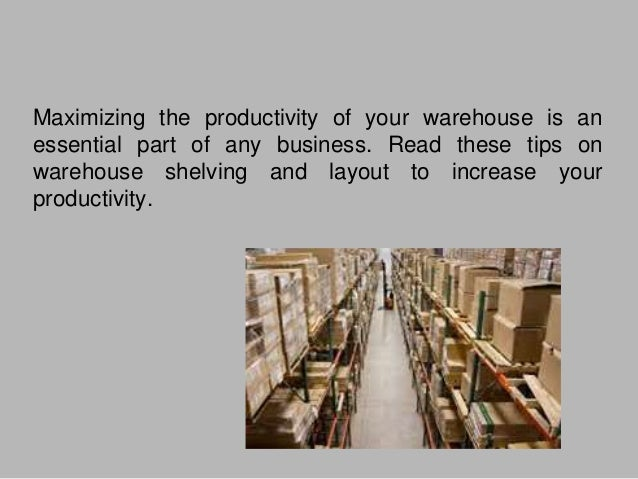 Strategies for making your warehouse more efficient Slide 2