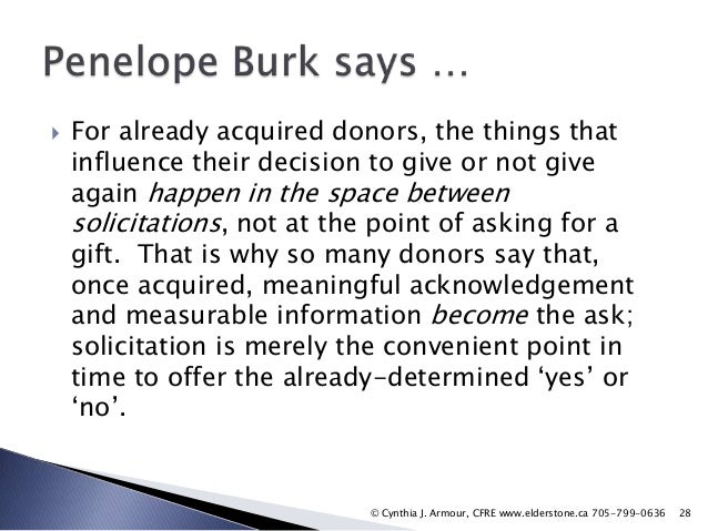 Strategies for Renewing First Time Donor Support
