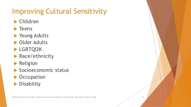 Cultural sensitivity in teens