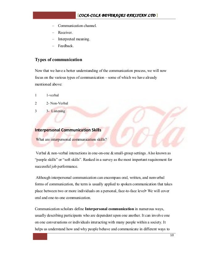 communication channels in pepsi If you compare pepsi's silent page to coca-cola's social efforts and the  many  other brands have dedicated customer service channels on.