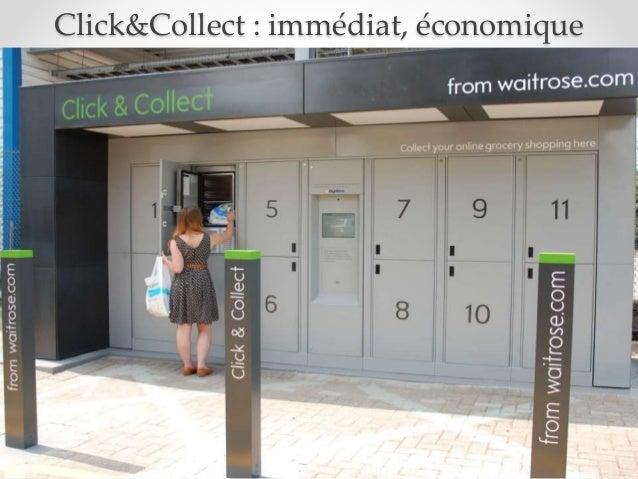 Click&Collect : immédiat, économique Source: New Look website