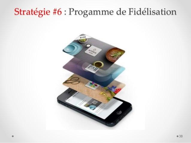 38 Stratégie #6 : Progamme de Fidélisation