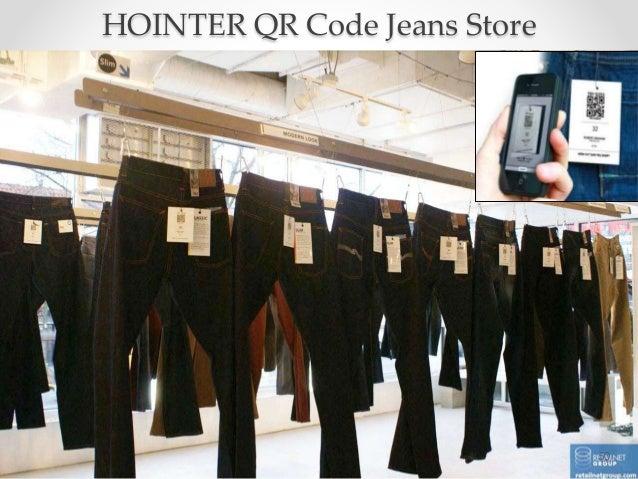 50 HOINTER QR Code Jeans Store