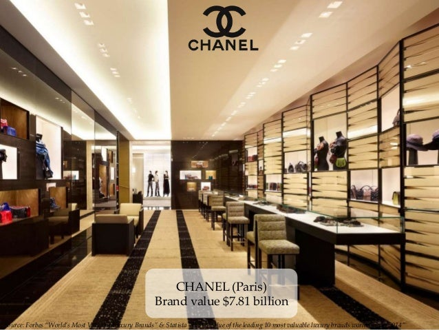 """Source: Forbes """"World's Most Valuable Luxury Brands"""" & Statista """"Brand value of the leading 10 most valuable luxury brands..."""